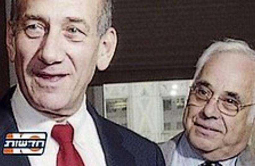 olmert talansky (2) 224 (photo credit: Channel 10)