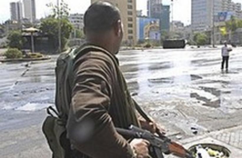shiite gunman beirut 248.88 (photo credit: AP)