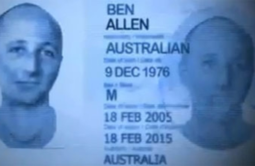 Ben Zygier passport 370 (photo credit: ABC News)
