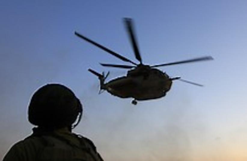 helicopter kassam 222.88 (photo credit: AP)