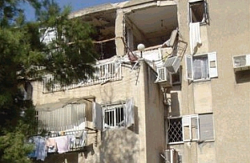 explosion building298.88 (photo credit: Zaka)