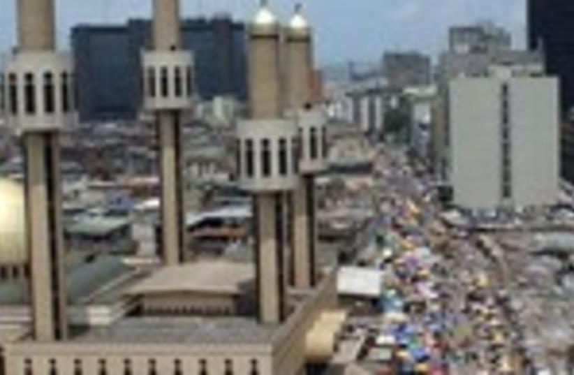 Nigeria, Lagos 150 (photo credit: REUTERS)