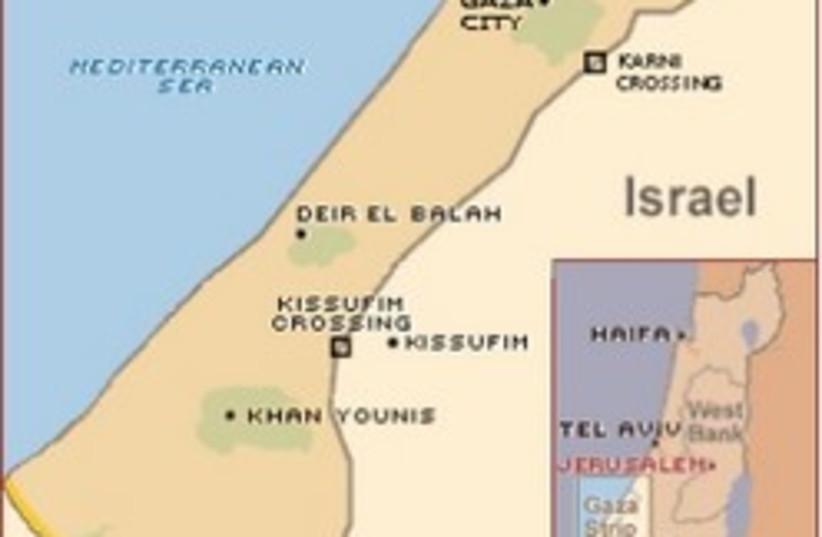 gaza map 248 88 (photo credit: )