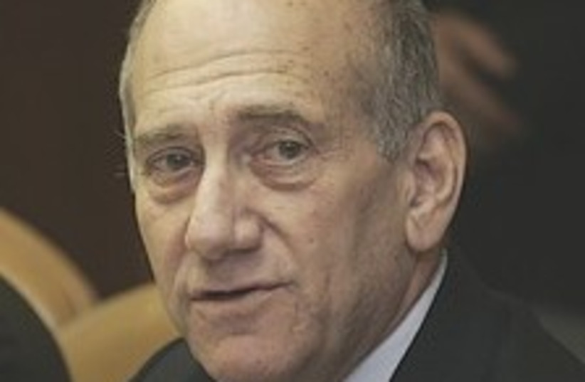 Olmert cabinet 224.88 (photo credit: AP [file])