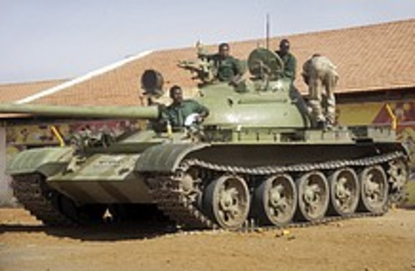 sudan tank 224 88 ap (photo credit: AP)
