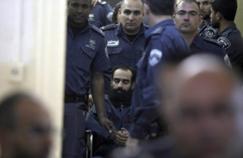Samer Isssawi, hunger-striker 370 (photo credit: Marc Israel Sellem/ The Jerusalem Post)