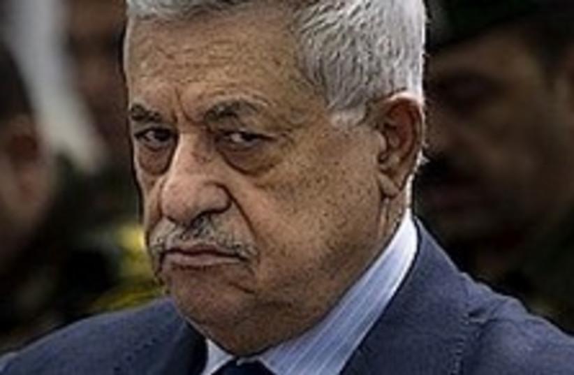 Abbas hung over 224.88 (photo credit: AP)