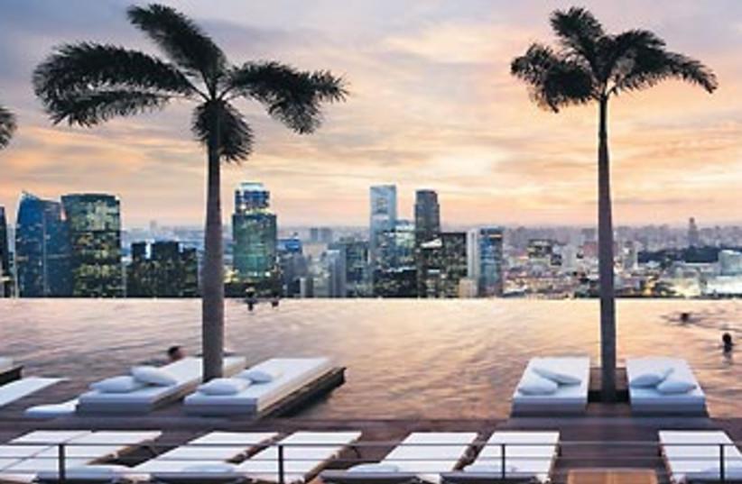 Singapore Marina Bay Sands hotel 370 (photo credit: Courtesy)