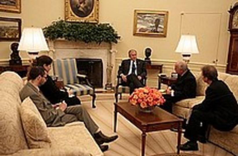 bush horovitz 224.88 (photo credit: White House photo by David Bohrer)