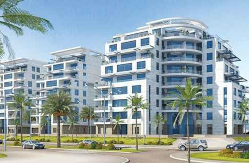 Hadera neighborhood plans (photo credit: Courtesy)