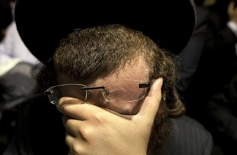 Orthodox man (photo credit: REUTERS/Lucas Jackson )