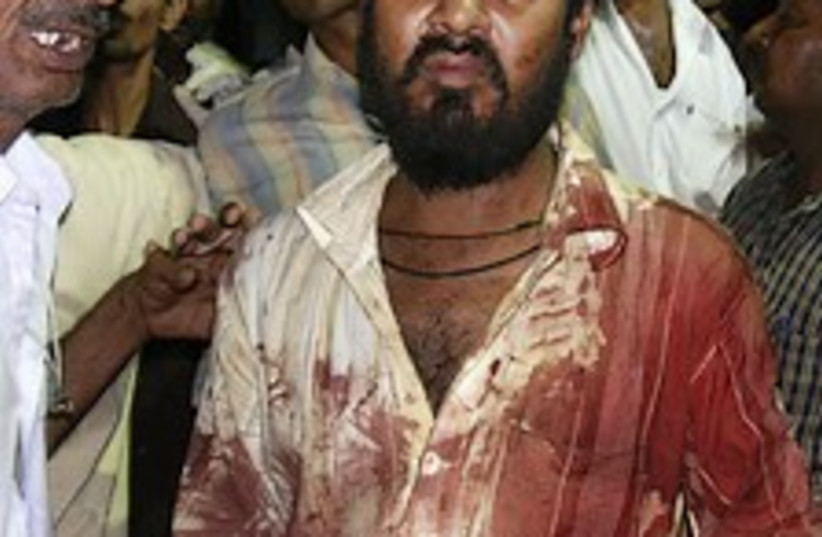 india blasts 224.88 (photo credit: AP)