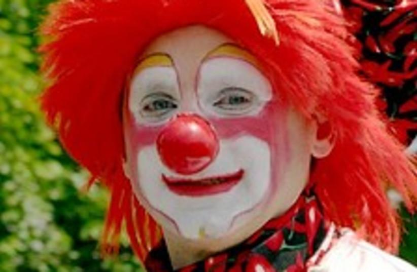 clown 224.88 (photo credit: Courtesy)