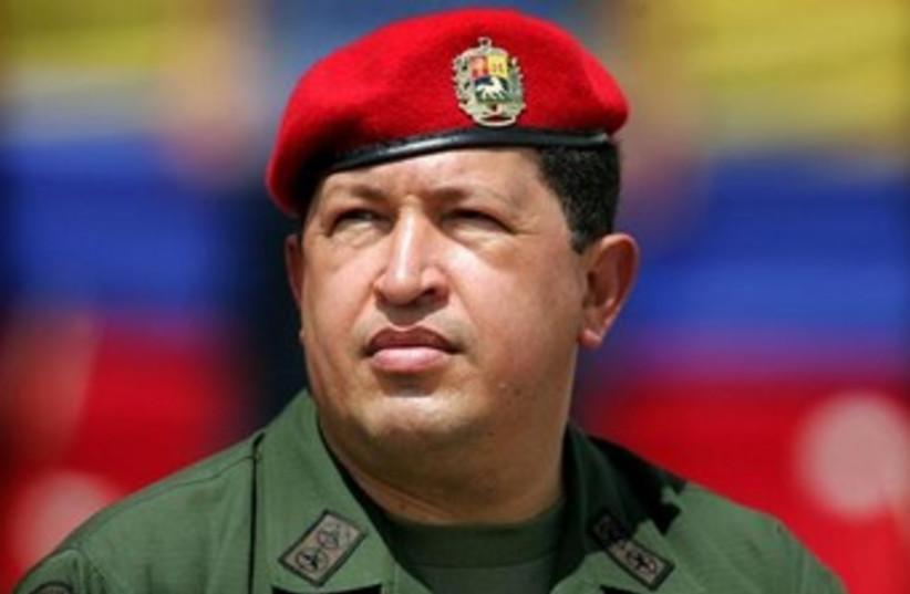Venezuela President Hugo Chavez 370 (photo credit: REUTERS/Jorge Silva)