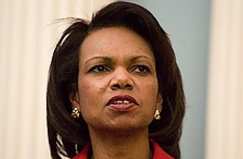 Condoleezza Rice 224.88 (photo credit: AP [file])