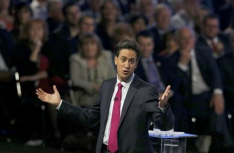 Ed Miliband 370 (photo credit: REUTERS)