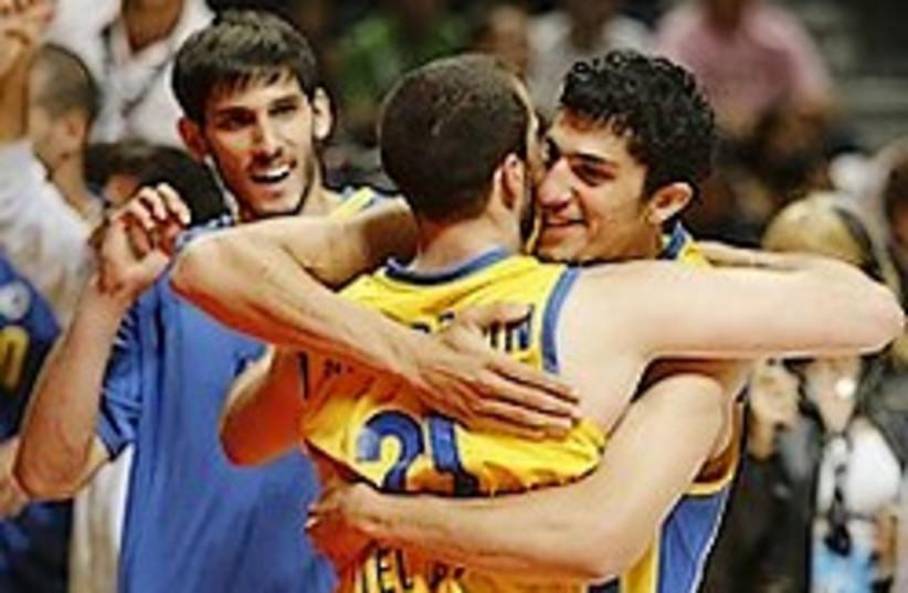 Maccabi Tel Aviv players 248 88 ap (photo credit: AP)