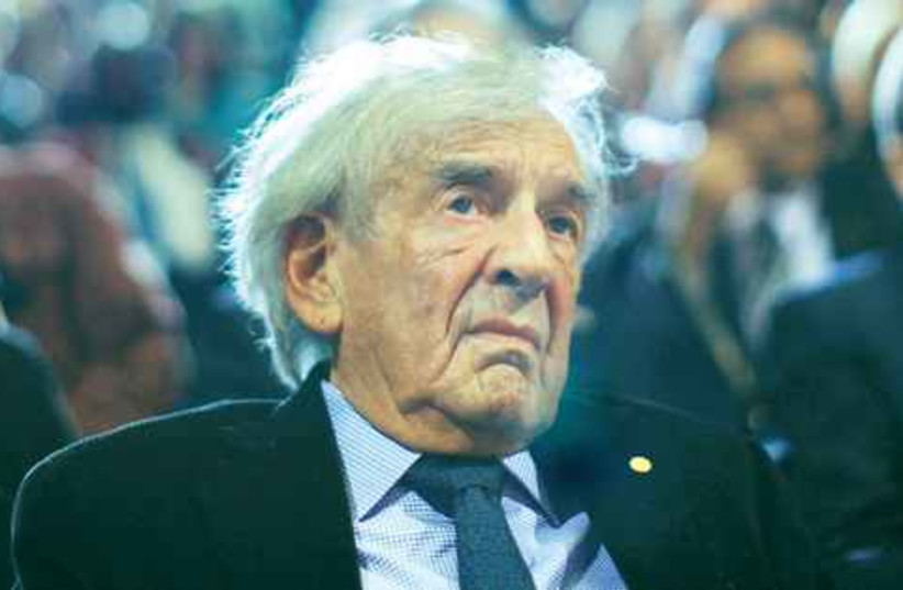 elie wiesel 521 (photo credit: Reuters)