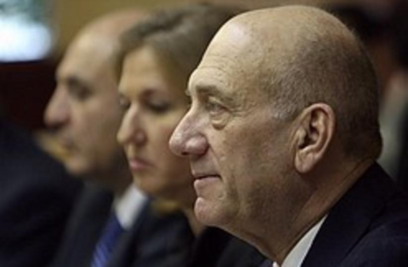 olmert last cabinet meeting 248 88 ap (photo credit: AP)
