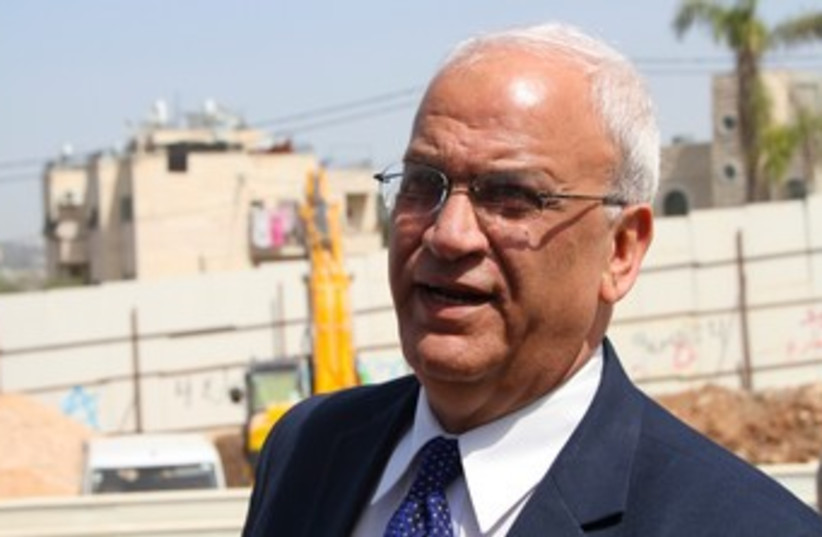 Saeb Erekat 370 (photo credit: TOVAH LAZAROFF)