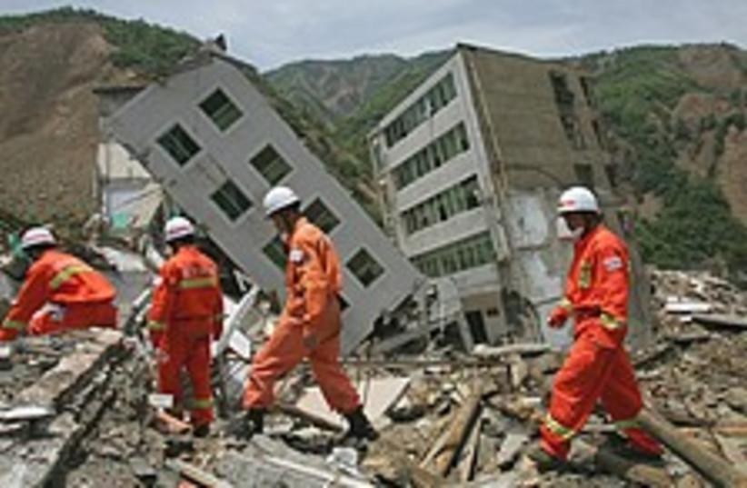 china rescuers 224.88 (photo credit: AP)