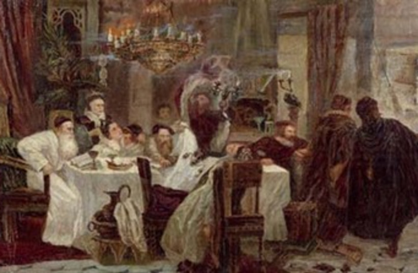 Marranos: Secret Seder in Spain 370 (photo credit: Wikimedia Commons)