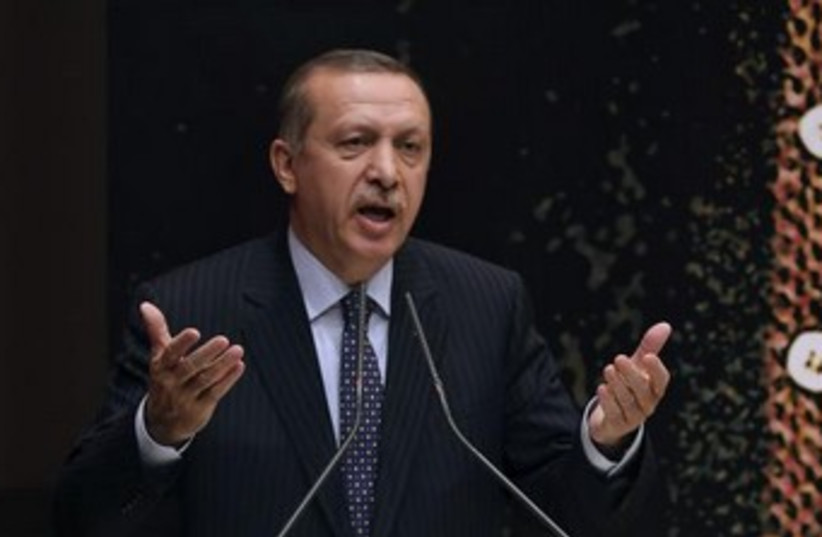 turkish PM Erdogan 370 (photo credit: REUTERS/Stringer)