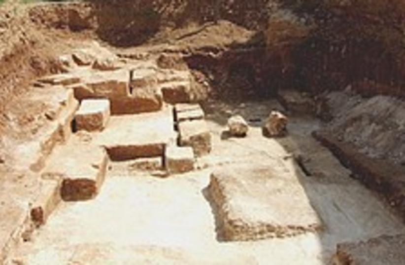 temple quarry 224.88 (photo credit: Israel Antiquities Authority )