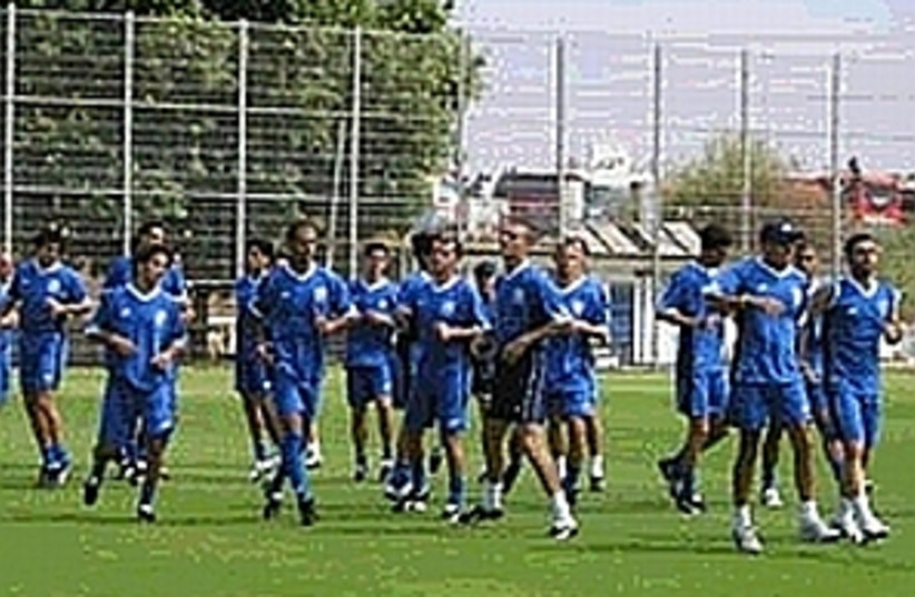 national soccer team 224 (photo credit: )