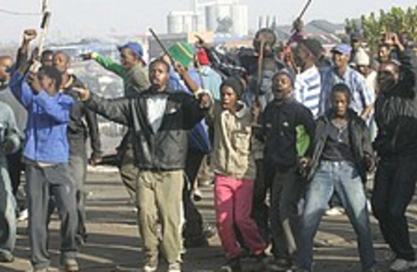 south africa violence 22 (photo credit: AP)