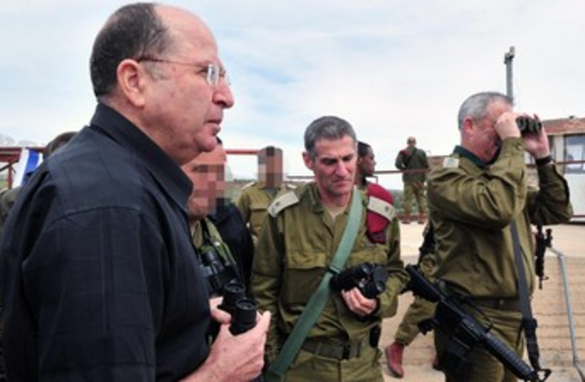 Defense Minister Moshe Yaalon 370 (photo credit: Ariel Hermoni, Defense Ministry spokesman)