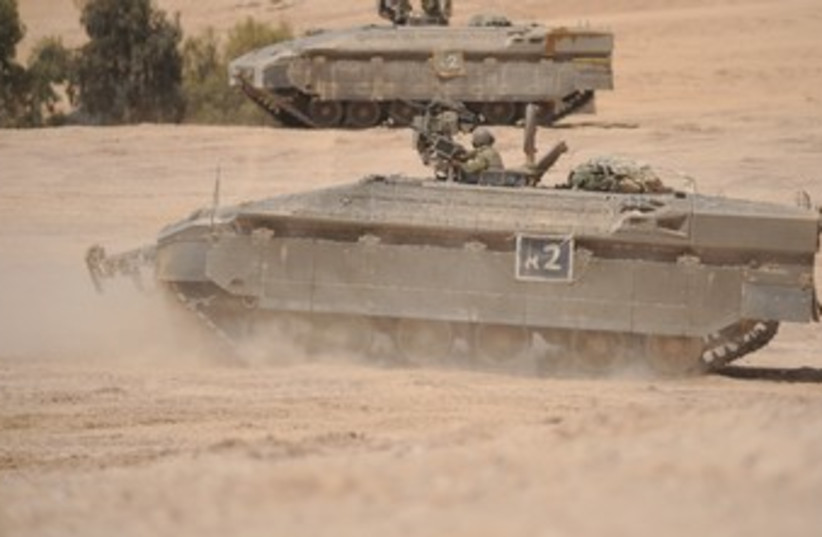 namer tank370 (photo credit: IDF Spokesman's Office)