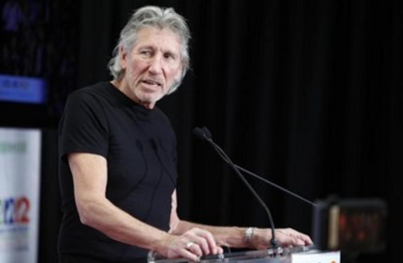 Roger Waters speaks to journalists 370 (photo credit: REUTERS/Carlo Allegri)