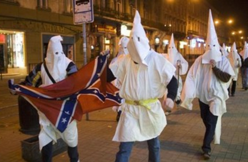 Klu Klux Klan (photo credit: REUTERS/Vasily Fedosenko)