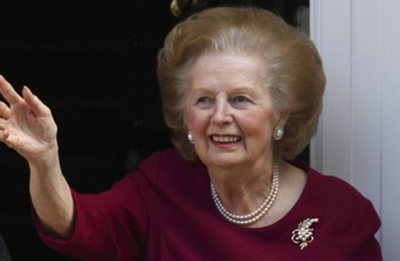 Former British PM Margaret Thatcher 370 (photo credit: REUTERS)