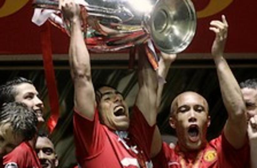 man united win champ AP (photo credit: AP)