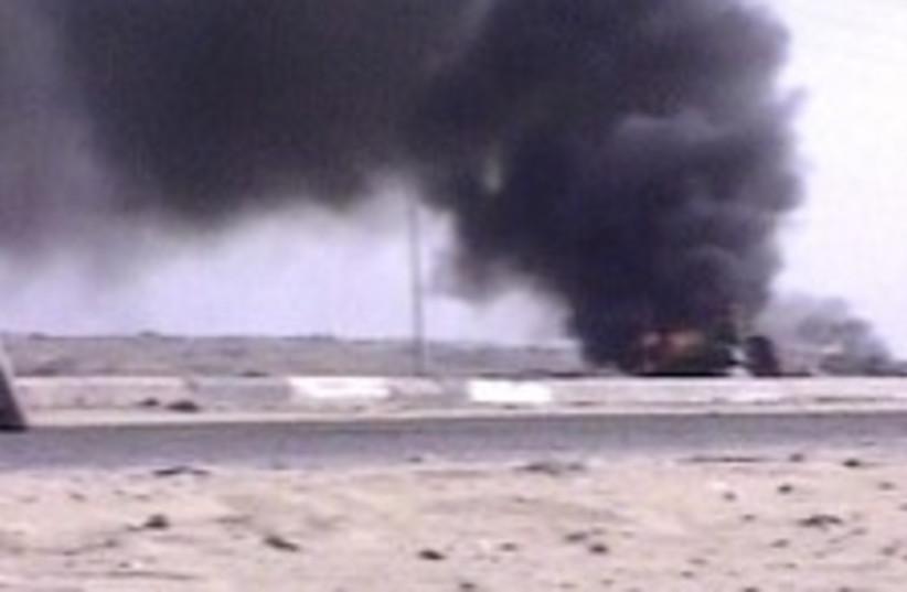 truck bomb 224.88 (photo credit: Channel 10)