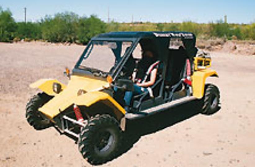 dune buggy 88 224 (photo credit: MASADA SIEGAL)