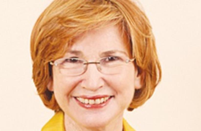 Health Minister Yael German 370 (photo credit: Courtesy Knesset)