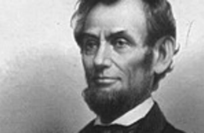 Abraham Lincoln 370 (photo credit: Jerusalem Post archives)