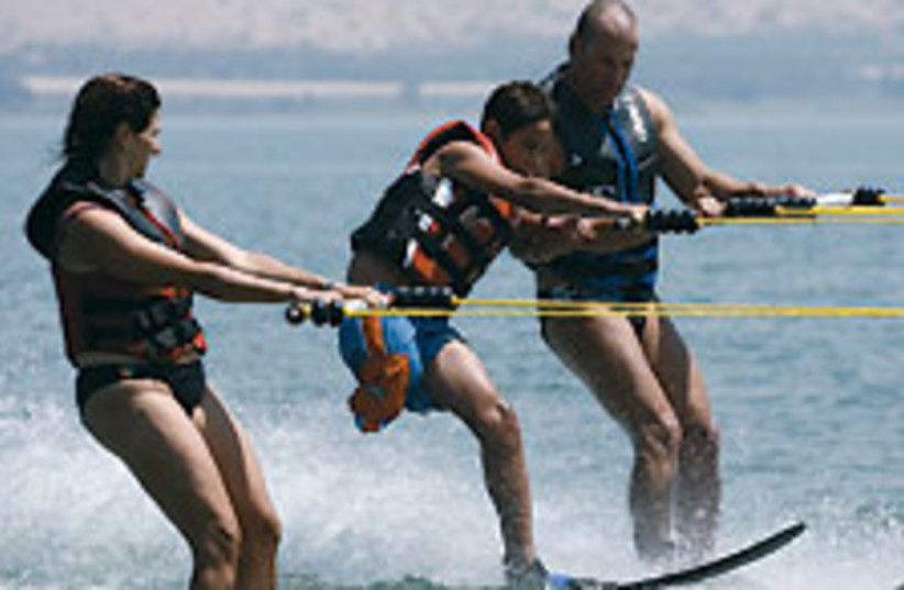 water ski 88 224 (photo credit: Courtesy, Tikvot)