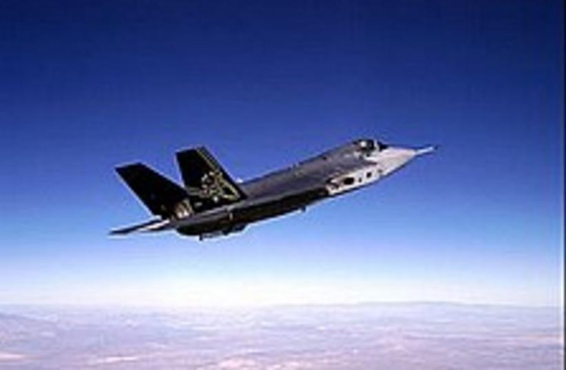 f-35 jet 224 88 (photo credit: Courtesy)