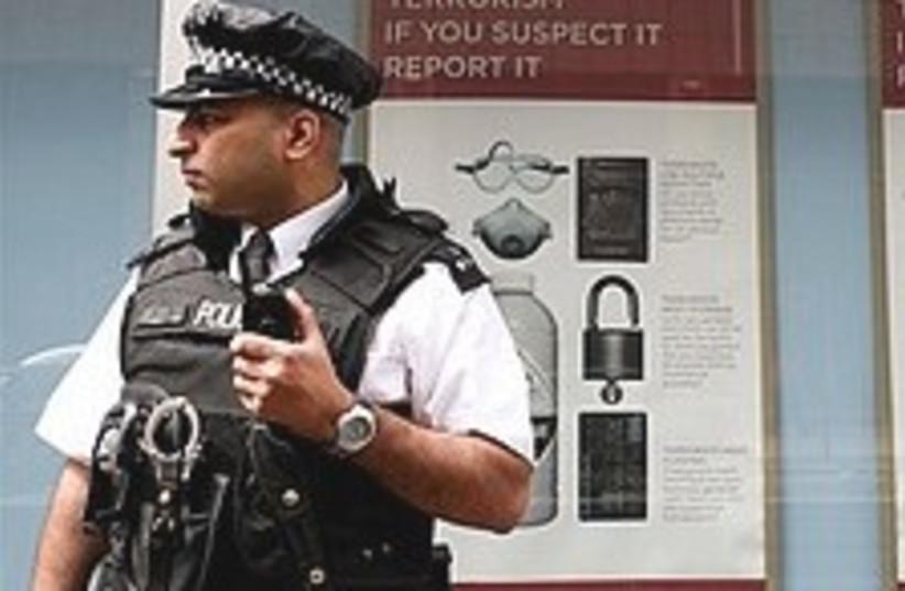 British police 224.88 (photo credit: AP)