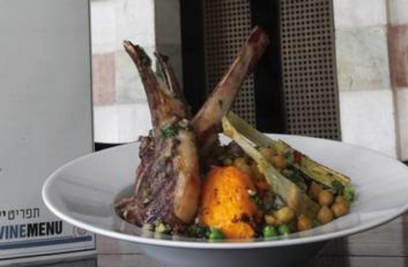 Kedma - A modern kosher meat restaurant (photo credit: Marc Israel Sellem)
