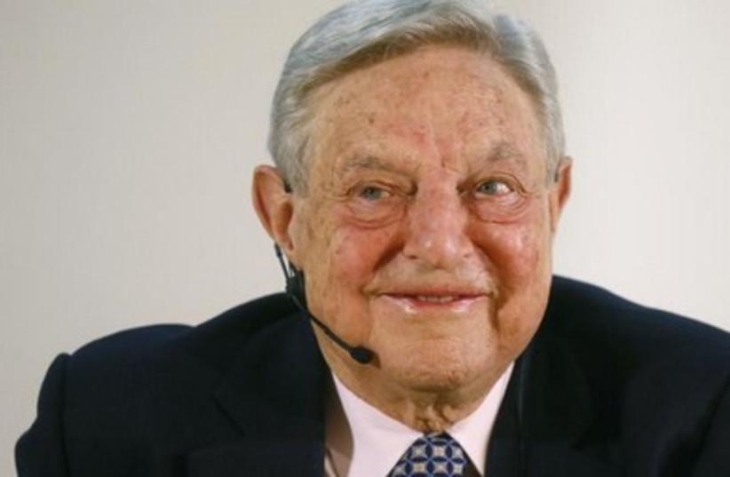 George Soros 390 (photo credit: reuters)