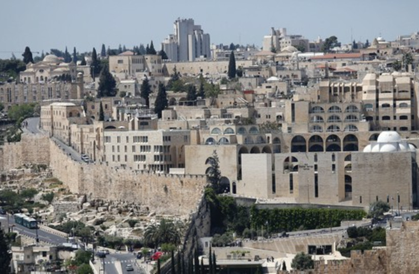 Jewish Quater in the Old City of Jerusalem, 521 (photo credit: Marc Israel Sellem/ The Jerusalem Post)