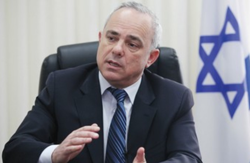 Yuval Steinitz 370 (photo credit: Marc Israel Sellem/The Jerusalem Post)
