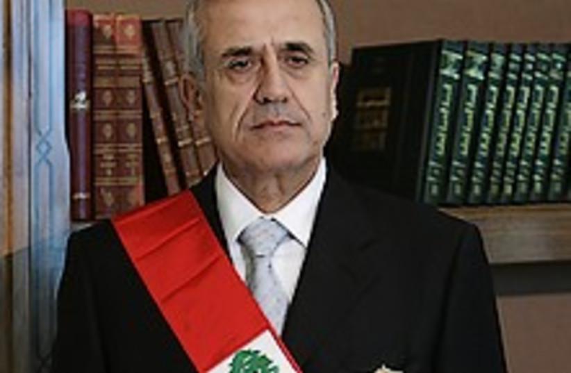 lebanon president 224.88 (photo credit: )
