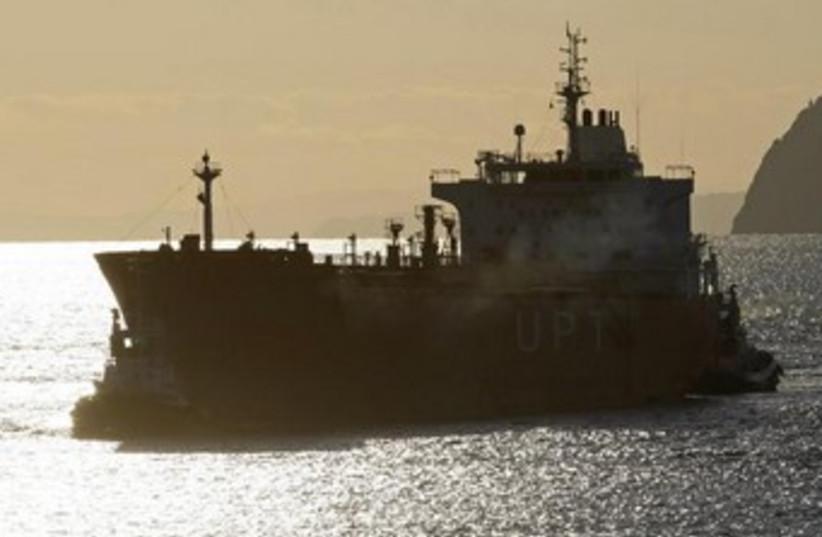 Iranian oil tanker 370 (photo credit: REUTERS)