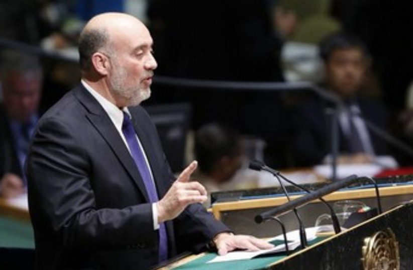 Ron Prosor 370 (photo credit: REUTERS)
